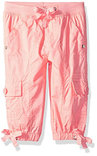- Limited Too Girls' Toddler Fleece Pant, Pull/on Rib Waist Cargo Capri Melon, 3T