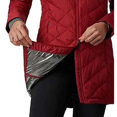 Columbia Women's Heavenly Long Hooded Jacket: Clothing