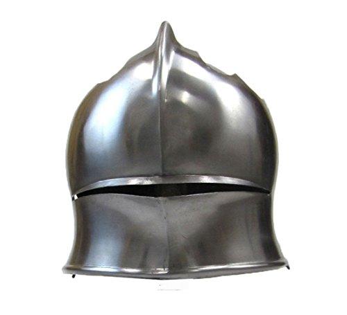 North Italian Sallet Helmet W/ Visor - Steel - Wearable (Buy Stormtrooper Outfit)