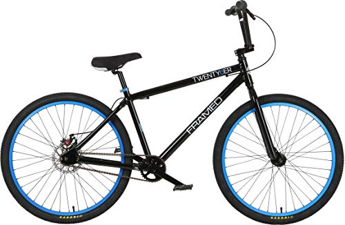 - Framed Twenty6er BMX Bike Black/Blue Mens Sz 26in