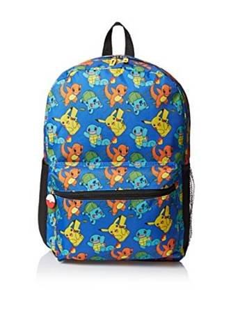 Sac à dos–Pokémon–Pikachu Bulbizarre Salamèche Nouveauté 843721–2 GDC