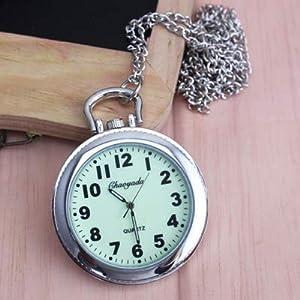 Culturemart Women Men s Pocket Watch Big for Students Test Quartz Clock Key Chains Nurse Medical Luminous Pocket Watch Feminino