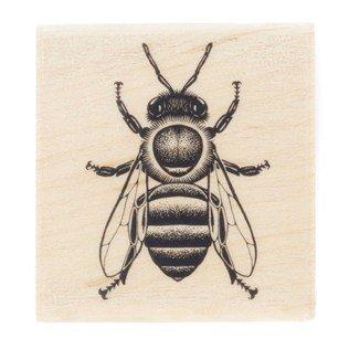 Honey Bee Rubber Stamp