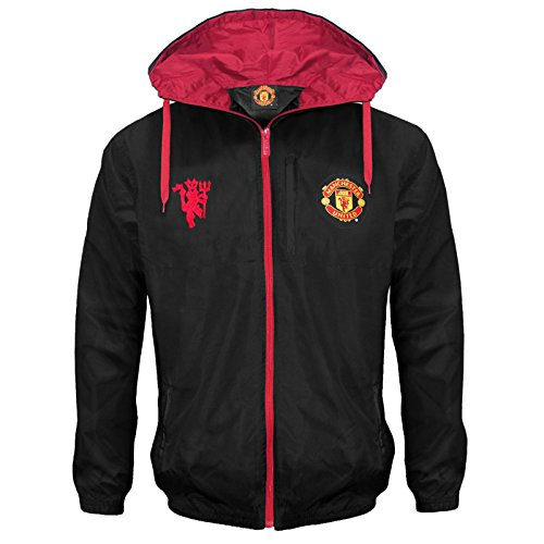 Manchester United FC Official Gift Mens Shower Jacket Windbreaker XXL