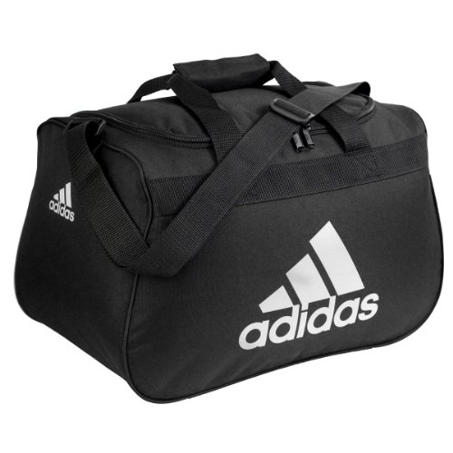 adidas Women's Diablo Duffle Small, One Size, Black (Adidas Womens Gym)