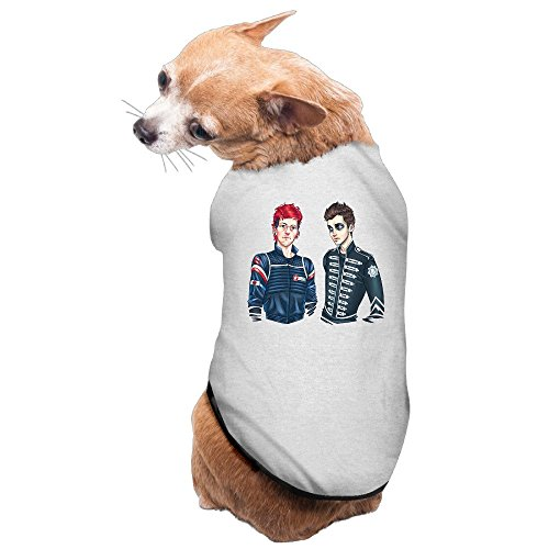 greenday-two-pilot-band-classic-dog-t-shirt-size-s-gray