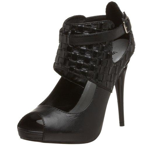 - Michael Antonio Women's Kalida Platform,Black,5.5 M US