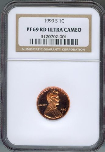 1999-S Lincoln Proof Cent NGC PF-69 Ultra Cameo Red