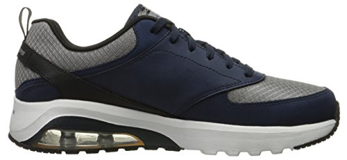Skechers Sport Mens Skech Air Extreme Wichess Fashion Sneaker Navy/Gray NRohfl