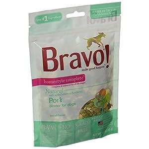 Bravo Homestyle Freeze Dried Dinner Pork Food, 3 oz. 24