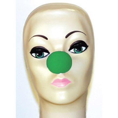 Magic By Gosh Green Foam Clown Noses (1 5/8
