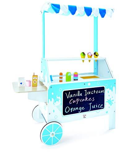 Award Winning Hape Ice Cream Emporium Wooden Play Kitchen Toy with Accessories