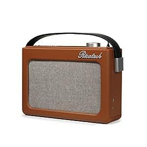 Ricatech Emmeline Radio–Cognac marrón