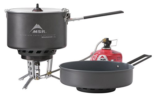 MSR Windburner Stove System Combo - Grey