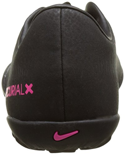 Nike Jr Mercurial Vapor Xi Tf, Scarpe da Calcio Unisex – Bambini, Multicolore (Black/Black/Pink Blast), EU