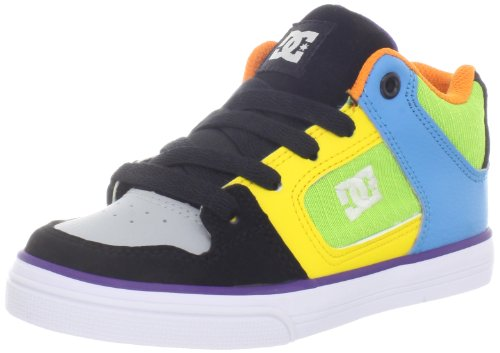 DC RADAR YOUTH SHOE D0302402B - Zapatillas de cuero para niño Multicolor