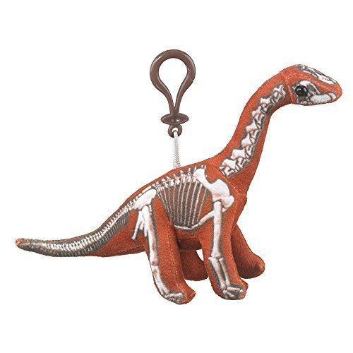 Plush Skelesaurs Brachiosaurus Backpack Clip Toy Keychain Plush Dinosaur Stuffed Animal ()