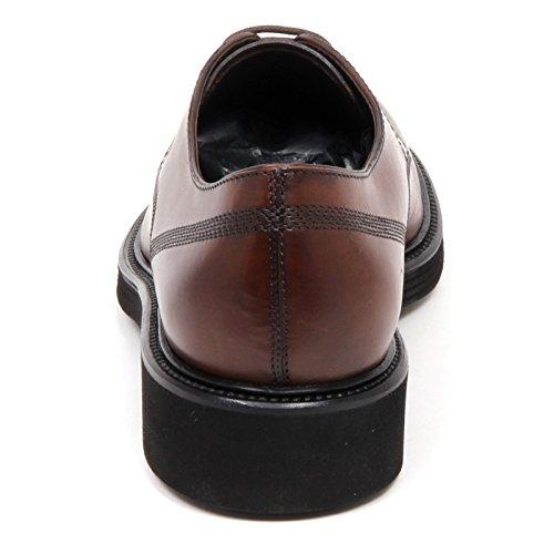 Tod's E3686 Scarpa Classica Uomo Brown Derby Scarpe Vintage Effect Shoe Man Marrone Bonito LvfJr07E