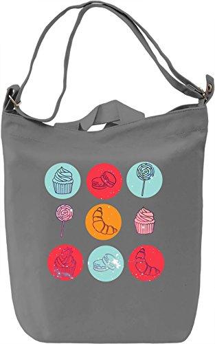 Cosmic Desert Borsa Giornaliera Canvas Canvas Day Bag  100% Premium Cotton Canvas  DTG Printing 