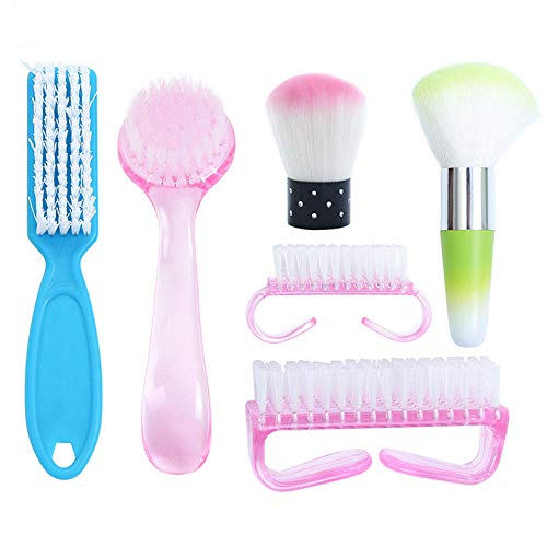 Pro Nail Art Dust Remover Brush Cleaner Tool For Acrylic UV Nail Gel Powder US -