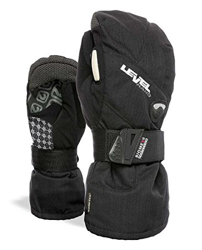 Level Half Pipe GTX Snowboard Protective Mittens with GoreTex Shell, BioMex Integrated Wrist Guards, ThermoPlus Liner