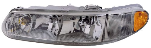Buick Century Transfer Case - Depo 332-1183R-ASD Buick Centry Passenger Side Replacement Headlight Assembly