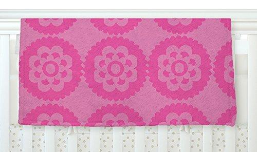 KESS InHouse Nicole Ketchum Moroccan Pink Fleece Baby Blanket 40 x 30 [並行輸入品]   B077Z37QJ6