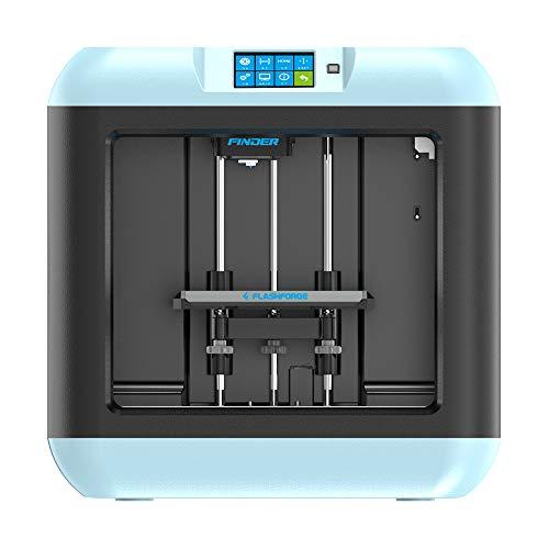 Flashforge Finder Lite 3D Printers Removable Platform Build Volume (140 x 140 x 140 mm) Touch Screen,3D Printer Houses…