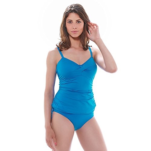 Fantasie Versailles Shaping Tankini Top, 38DD, China Blue