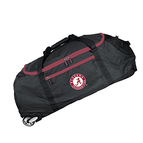Crimson Collapsible (NCAA Alabama Crimson Tide Crusader Collapsible Duffel, 36-inches)