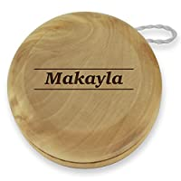 Dimension 9 Makayla Classic Wood Yoyo with Laser Engraving