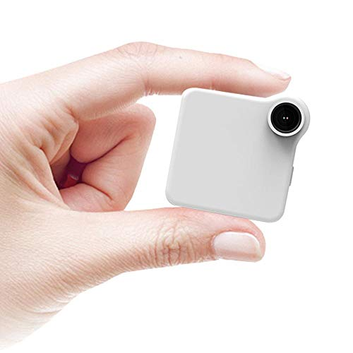 LAYOPO C1 Mini Web Hidden Camera, WiFi Video Sound Recorder Multi Portable Full HD 1080P H.264 Micro DVR Action Motion Detection WiFi Flexible Motion Detection Camera(White) by LAYOPO