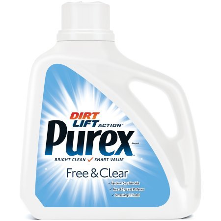 PACK OF 6 - Purex Liquid Laundry Detergent, Free & Clear, 150 Fluid Ounces, 100 Loads by Purex (Image #2)