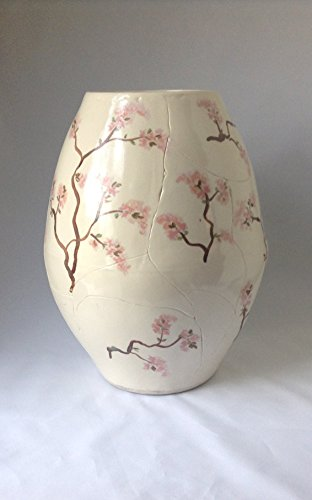 Porcelain Vase with Cherry Blossoms ()
