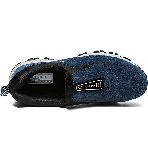 Trekking Vilocy EU Blu Uomo Non Scarpe Scarpe Scivolare All'aperto Escursionismo Buio Sneaker 44 Y4YvZq