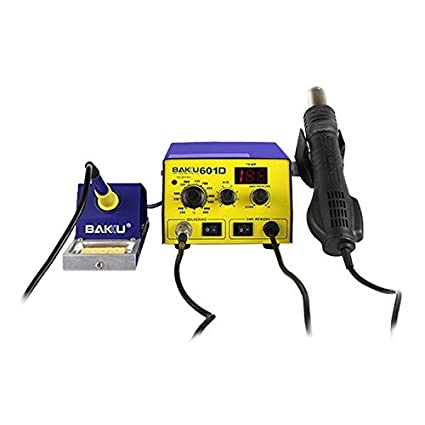 Conveniente Preciso y duradero sofisticado BAKU BK-601D AC 110V Pantalla LED 2 en 1
