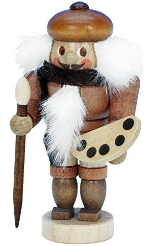 Alexander Taron Importer 13-0506 - Christian Ulbricht Mini Nutcracker - Artist - 3.5'''' H x 2'''' W x 2'''' D by Alexander Taron Importer