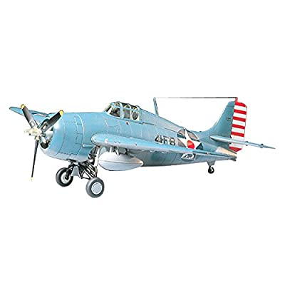 Tamiya Models Grumman F4F-4 Wildcat Model Kit: Toys & Games