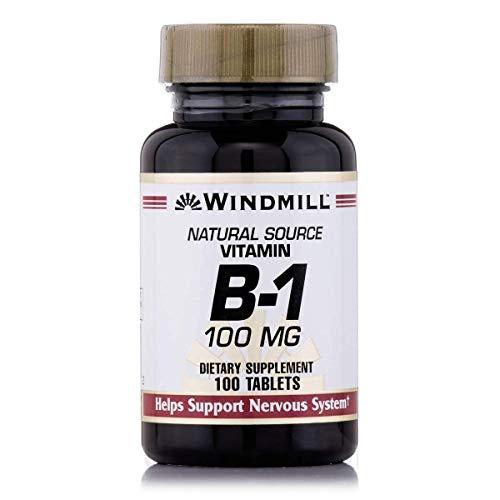 Windmill Vitamin B-1 TABS 100 MG WMILL Size: 100