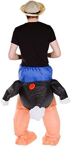 Bodysocks® Disfraz Hinchable de Avestruz Adulto: Amazon.es ...