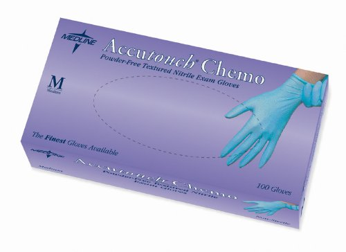 Accutouch Chemo Exam Gloves - Medium Case Pack 10 - 410464 by Accutouch