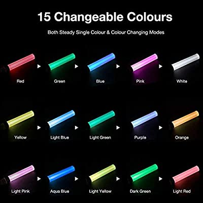 BINWO LED Glow Light Sticks, LED Flashing Light Sticks with 15 Multicolor Concert Flashing Stick Come with Batteries, Best for Festivals, Parties, Concerts, Birthdays, Camping, Children Toy: Sports & Outdoors
