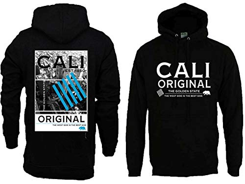 West Side Clothing Original - Cali Original West Side Mens Heavyweight Pullover Hoodie (L)