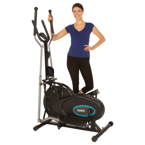 ProGear 300LS Air Elliptical with Heart Pulse Sensors (Exerpeutic Air Elliptical)