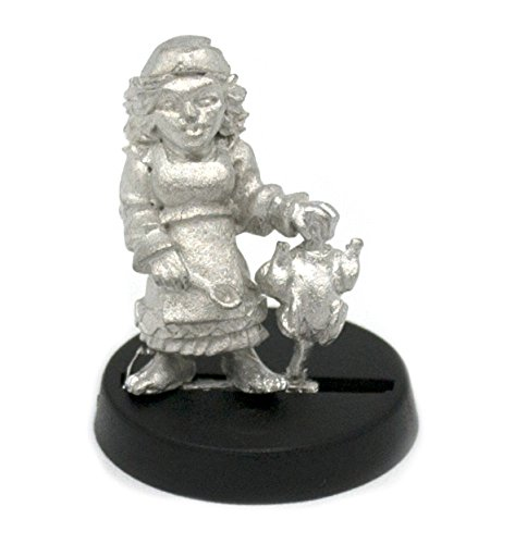 for 28mm Scale Table Top War Games Stonehaven Halfling Cook Miniature Figure Made in USA