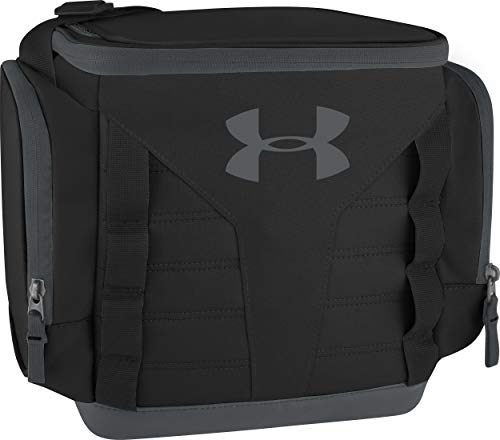 Under Armour 12 Can Soft Sided Cooler, Black/Pitch Gray