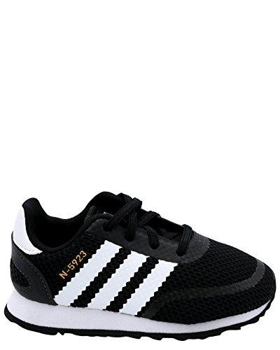 sports shoes 92265 69093 Galleon - Adidas Originals Baby N-5923 EL I Sneaker, Core Black,White, Grey  Three Fabric, 8K M US Toddler