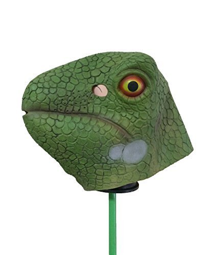 MostaShow Halloween Lizard Costume Cosplay Masks Latex Animal