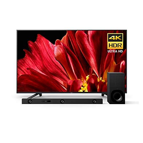Sony XBR65Z9F 65-Inch 4K Ultra HD Smart BRAVIA LED TV and Sony Z9F 3.1ch Soundbar with Dolby Atmos and Wireless Subwoofer