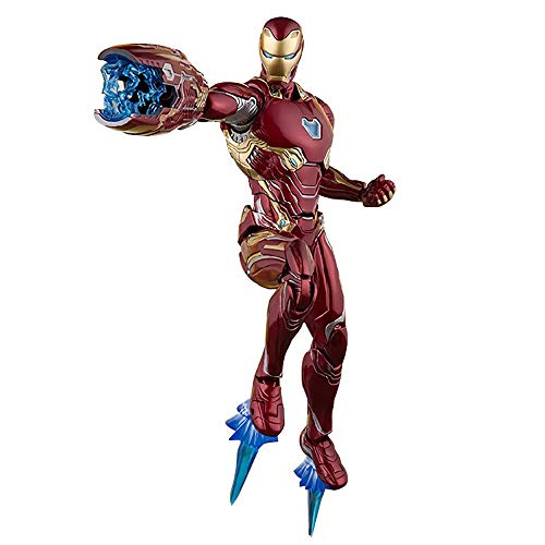 梁友 キッズおもちゃ アベンジャーズ3インフィニットウォーSHF絶望的なアイアンマンMk50可動身長16cm